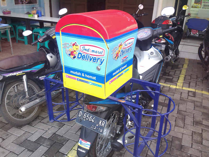 box delivery motor