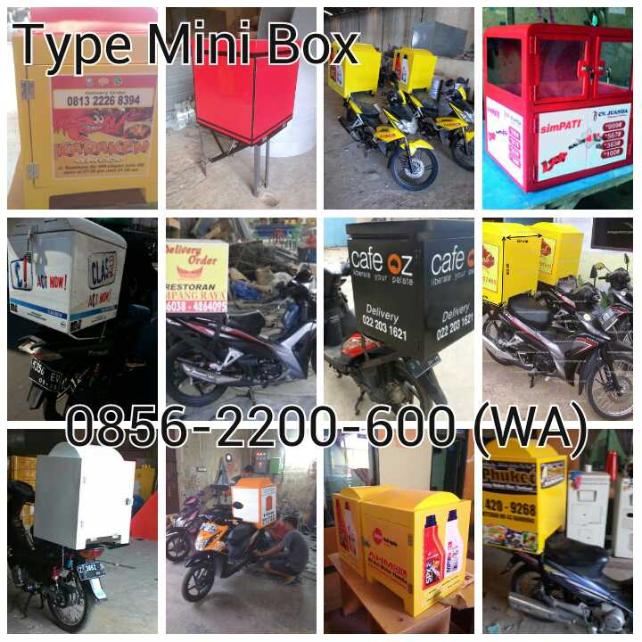 Harga Box Motor Delivery Murah Box Delivery Motor