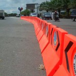 Pembatas Jalan – Fiberglass Road Barriers
