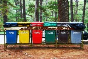 warna tempah sampah fiberglass