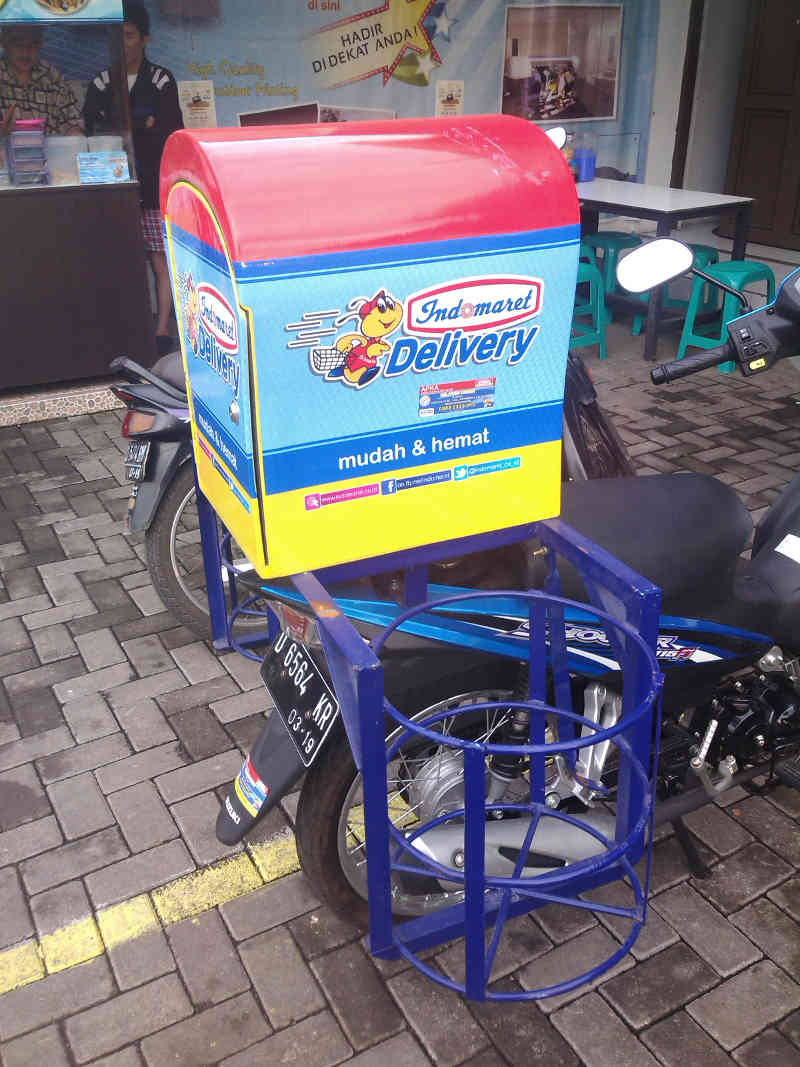 box motor delivery indomaret