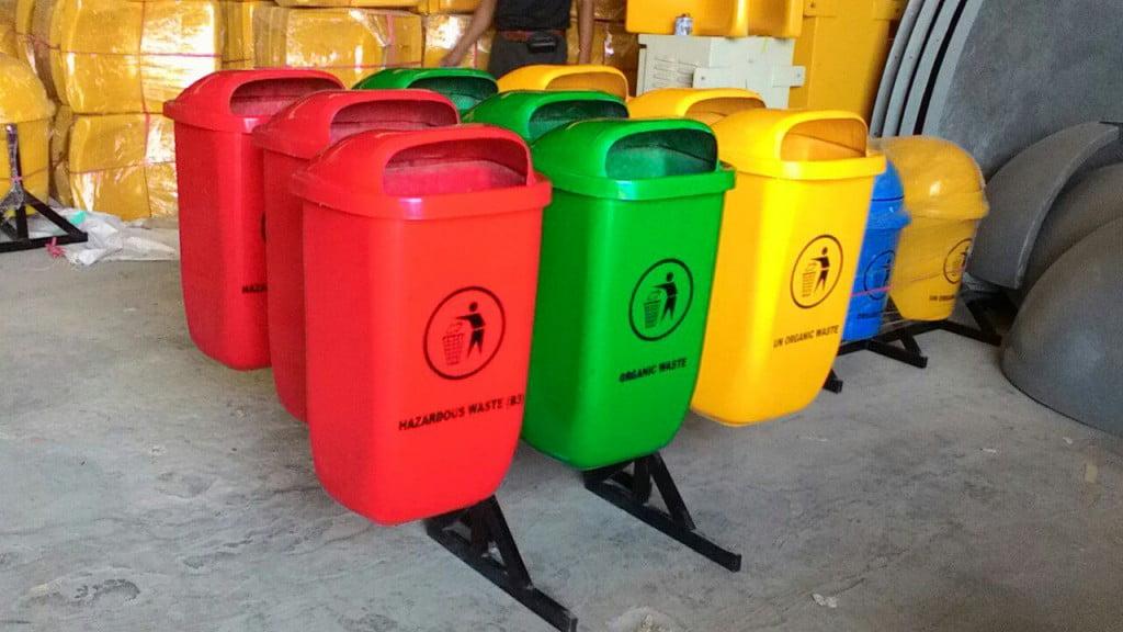 tempat sampah fiberglass