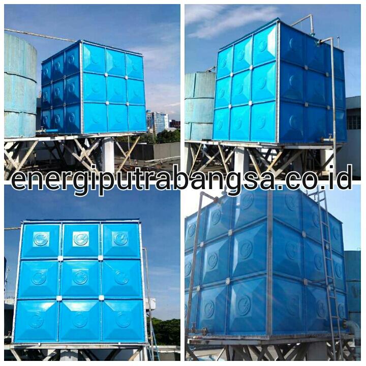 Tangki Fiberglass FRP – Tangki Panel Air – Harga Discount