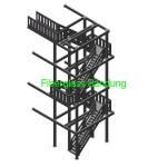 tangga fiber