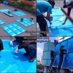 Tangki Air Fiber Panel Kotak Untuk Roof Tank Fiberglass
