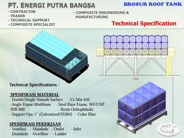 brosur roof tank