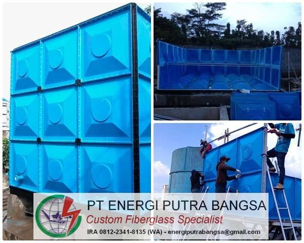 roof tank fiberglass frp