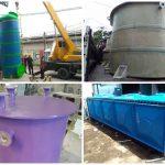 FRP Tank Murah Produsen Tangki Fiberglass