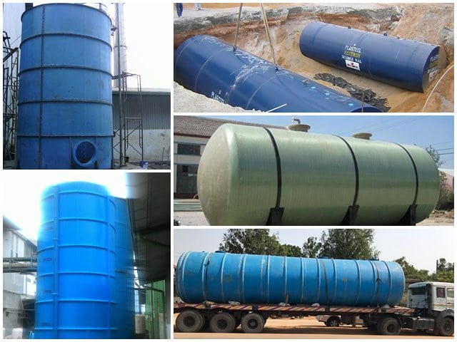 harga ground water tank fiberglass