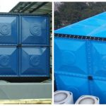 harga roof tank fiberglass