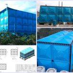 tangki panel roof tank