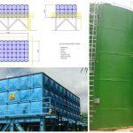 frp water tank fiberglass
