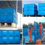 kontraktor roof tank fiberglass