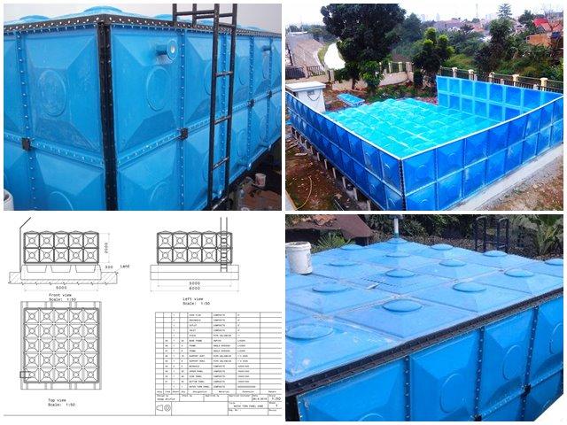 produsen tangki panel fiberglass
