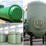 supplier tangki kimia fiberglass