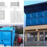 Tangki Kotak Panel Fiberglass Kapasitas Terlengkap