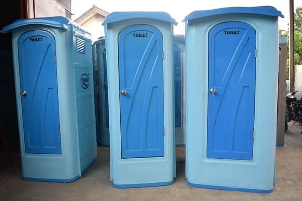 Toilet Portable Outdoor Praktis Untuk Area Publik